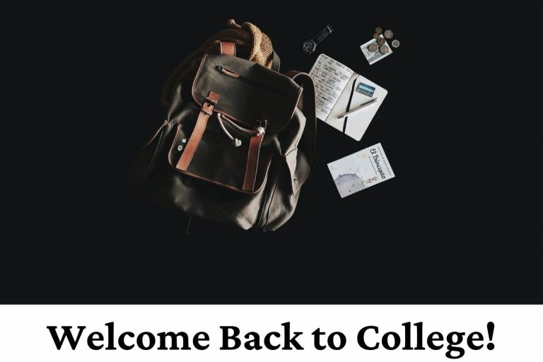 Welcome Back to College!